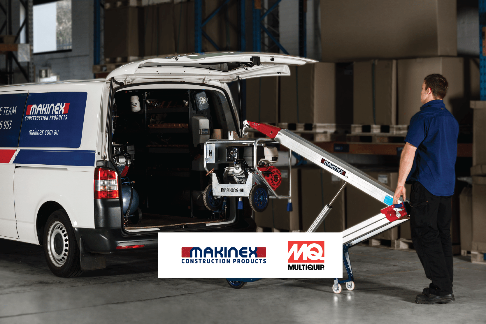 Makinex and Multiquip sign exclusive UK distribution deal